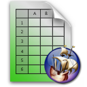 http://commons.wikimedia.org/wiki/File:Calc_document_icon.png